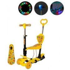 Самокат дитячий з підсвіткою колес та фарою, iTrike, JR3-003-1-L