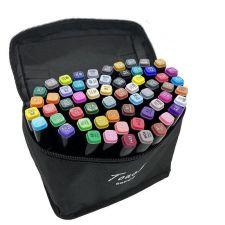 Набір скетч-маркерів 48 кольорів, чохол, Touch Raven,