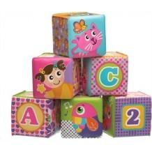 Іграшка-кубик м'який 6 шт., 184164