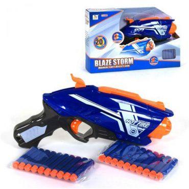 Бластер Blaze Storm з м'якими кулями, Toys, 7063