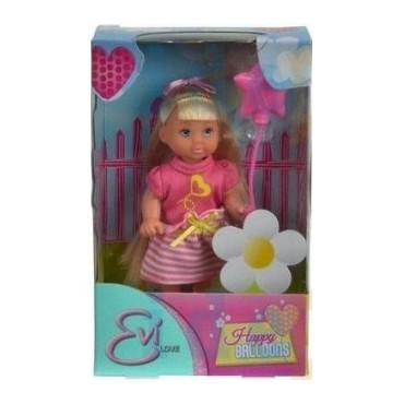 Лялька Еві з повітряною кулькою 12см HELLO KITTY, Simba, 5732298