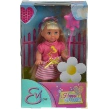 Кукла Еви с воздушным шариком 12см , Simba, 5732298