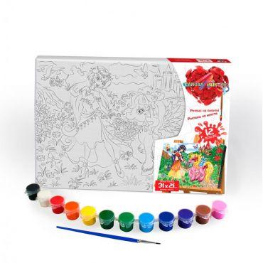 """Набір для творчості """"Картина за номерами. Поні 31х21см"""", Danko Toys, PX-06-01"""