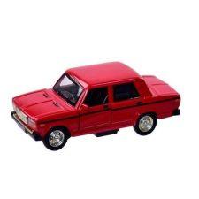 """Модель """"Автопром"""" ВАЗ 2107, білого кольору (1:32) звуки та світло, 7794"""