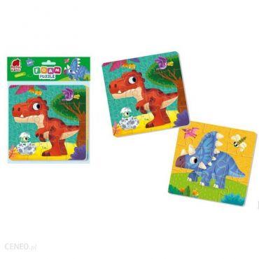 "М'які пазли 2 в 1 ""Динозаври"", Roter Kafer, RK6050-06"