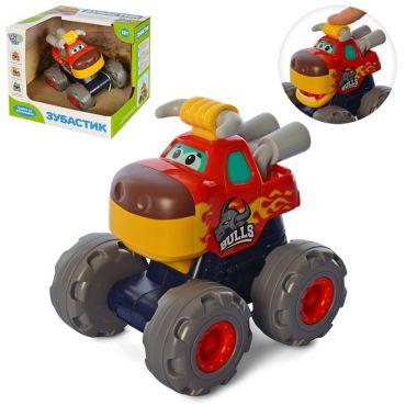 Машинка інерційна Зубастик Бичок-Рогач, Limo Toy, 3151A