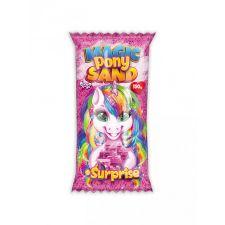 """Кінетичний пісок """"Magic Pony Sand"""" рожевий, 150г, Danko Toys, MPS-01-01"""