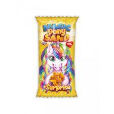 """Кінетичний пісок """"Magic Pony Sand"""" жовтий, 150г, Danko Toys, MPS-01-04"""