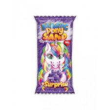 """Кінетичний пісок """"Magic Pony Sand"""" фіолетовий + сюрприз, 150г, Danko Toys, MPS-01-02"""