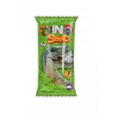 """Кінетичний пісок """"Dino Sand"""" зелений + сюрприз, 150г, Danko Toys, DS-01-02"""