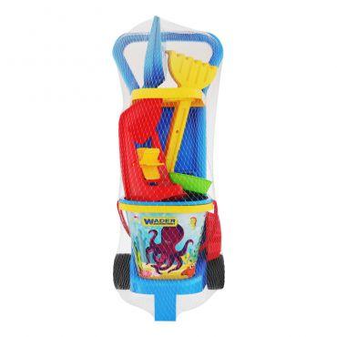"""Набір іграшок для дітей """"На пляжі""""., WADER, 10771"""