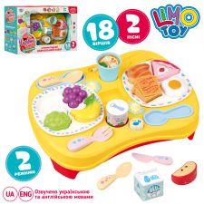 """Ігровий набір """"Чарівна кухня. Розумний столик"""" звук та світло, LimoToy,M 4477"""