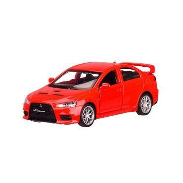 "Модель ""Автопром"" «Mitsubishi Lancer Evolution» , червоного кольору (1:41) звуки та світло, 4335"
