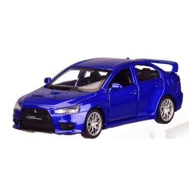 "Модель ""Автопром"" «Mitsubishi Lancer Evolution» , синього кольору (1:41) звуки та світло, 4335"