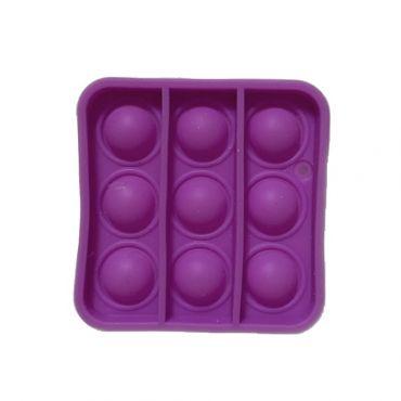 Іграшка Pop It антистрес міні версія, квадрат фіолетовий колір Toys