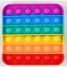 Сенсорна іграшка Pop It антистрес, квадрат різнокольоровий, Toys, C45476