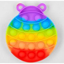Сенсорна іграшка Pop It антистрес, комашка різнокольорова, Toys, C45482