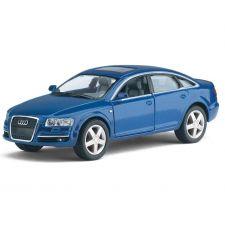 """Модель Kinsmart """"Audi A6"""", синего цвета, KT5303W"""