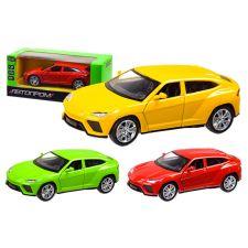 "Модель ""Автопром"" «Porsche Cayenne S», серого цвета (1:24) звуки и свет, 68241А"
