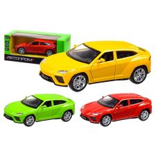 "Модель Автопром ""Lamborghini"" желтый (1:32) звуки и свет, 3201"