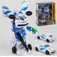 Робот Трансформер Полицейская машина Toys, 611-27