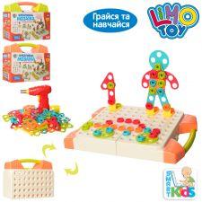 Креативная мозаика с инструментами 129 деталей, Limo Toy, M 5480