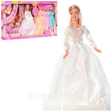 Лялька Lucy в бальному платті з нарядами, Defa Lucy, 6073B
