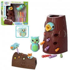 """Дитяча магнітна гра """"Нагодуй дятла"""", Limo Toy, FT 0015"""