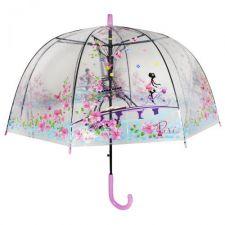 Зонтик детский прозрачный Красный, Toys, um533