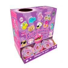 М'яка іграшка-сюрприз в кулі S12+1 (11 видів в асортименті), SURPRIZAMALS, SU03254