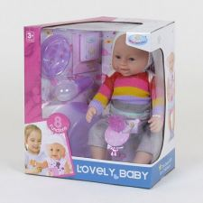"Пупс ""Lovely baby"" 42 см Toys,спортивний костюм, 8040-487"