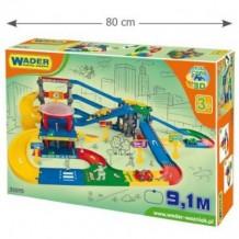 Мультипаркинг с дорогой 9.1 м Kid Cars 3D Wader, 53070