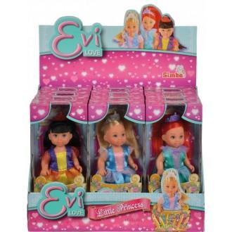 """Лялька Еві """"Маленька принцеса, 12 см, 5736280"""