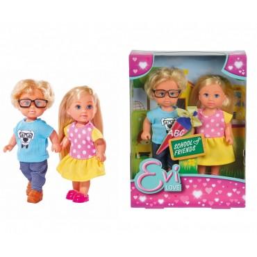 """Кукла Эви """"Школьные друзья"""", 12 см, Simba, 5737113"""