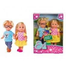 """Лялька Еві """"Шкільні друзі"""", 12 см, Simba, 5737113"""