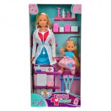 """Лялька Штеффі і Еві """"Дитячий лікар"""", 5730934"""