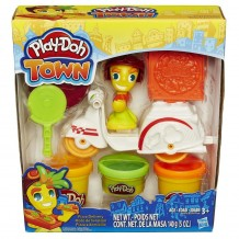 "Набор пластилина Play-Doh Town ""Полицейский мотоцикл"", B5959"