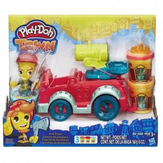 "Набір пластиліну Play-Doh Town ""Пожежна машина"", B3416"