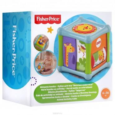 Кубик Веселые животные Fisher-Price, BFH80