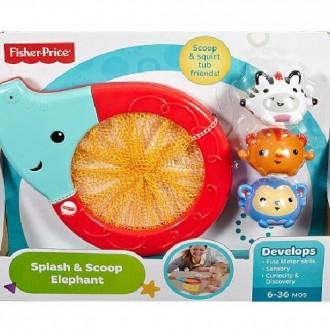 Іграшка у ванну Fisher-Price Друзі слоненяти, CMY23