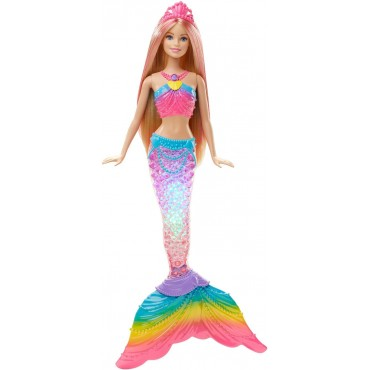 "Barbie русалка ""Яркие огоньки"", DHC40"