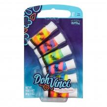 Набор двухцветных картриджей DohVinci, 6 тюбиков, B0006