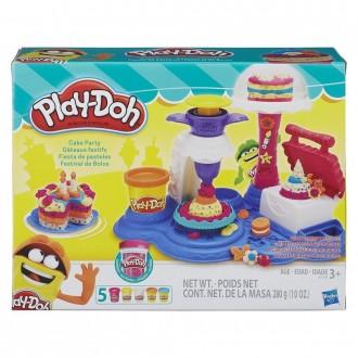 """Набір пластиліну Play-Doh """"Солодка вечірка"""", B3399"""