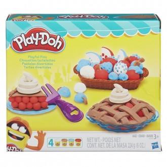 """Набір пластиліну Play-Doh """"Ягідні тарталетки"""", B3398"""