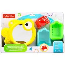 """Іграшка для ванної """"Черпачок, кошик і дзеркало"""", Fisher Price, CMY27"""