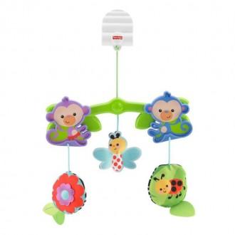 """Підвіска на коляску """"Мавпочки з тропічного лісу"""", BHW59"""