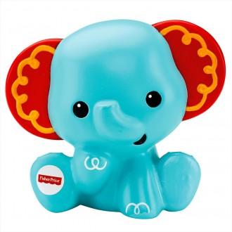 """Іграшка-бризкалка для ванної """"Слоник"""" Fisher Price, DGR68"""