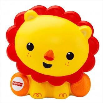 """Іграшка-бризкалка для ванної """"Левеня"""" Fisher Price, DGR68"""