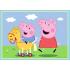 """Набір з 4 пазлів Trefl """"Пригоди свинки Пеппи"""", 35+48+54+70ел., 34246"""
