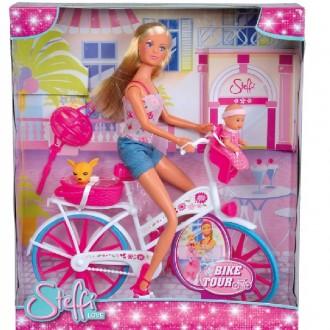 """Лялька Штеффі Steffi Love """"Штеффі на велопрогулянці"""", 5739050"""
